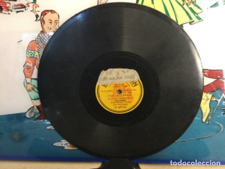 """DISCO PIZARRA DE PUBLICIDAD DE RADIO DE """" CREMA NIEVINA """" - THE HAPPY JAZZ (Música - Discos - Pizarra - Bandas Sonoras y Actores )"""