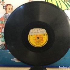 """Discos de pizarra: DISCO PIZARRA DE PUBLICIDAD DE RADIO DE """" CREMA NIEVINA """" - THE HAPPY JAZZ. Lote 257313390"""