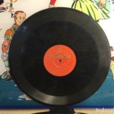 """Discos de pizarra: DISCO PIZARRA DE PUBLICIDAD DE RADIO DE """" FUNDADOR """" - DON LIÑAN CON ACOMPAÑAMIENTO DE ORQUESTA. Lote 257320400"""