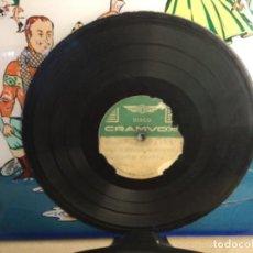 Discos de pizarra: DISCO PIZARRA DE PUBLICIDAD DE RADIO - ALMANZOR- PRESENTACIONES CIERRES Y DE EMISIONES Y CUÑA. Lote 257321980