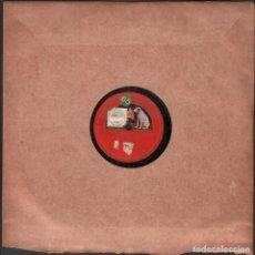 Discos de pizarra: DISCO DE 78 R.P.M. (PIZARRA) - LUISA FERNANDA (DUO DE LA ROSA) // MAZURCA RF-9498. Lote 257324885