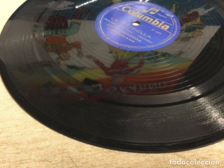 Discos de pizarra: DISCO PIZARRA DE PUBLICIDAD DE RADIO - LA ESTRELLA - LUISA ESPINOSA (ref-12) - Foto 4 - 257326065