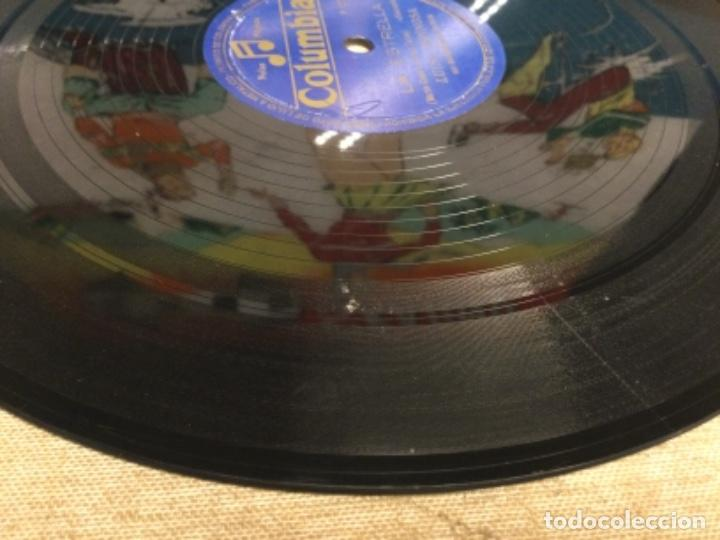 Discos de pizarra: DISCO PIZARRA DE PUBLICIDAD DE RADIO - LA ESTRELLA - LUISA ESPINOSA (ref-12) - Foto 7 - 257326065