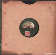 Discos de pizarra: DISCO DE 78 R.P.M. (PIZARRA) - VISITA A ZURICH (DUO DE MANDOLINA Y GUITARRA) / MONOCARA RF-9502. Lote 257326205