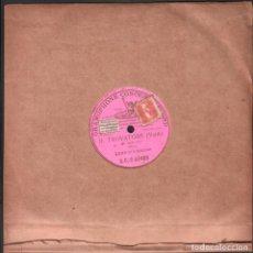 """Discos de pizarra: DISCO DE 78 R.P.M. (PIZARRA) - IL TROVATORE (VERDI) """"DI QUELLA PIRA"""" ENRICO CARUSO / 1 CARA RF-9503. Lote 257326585"""