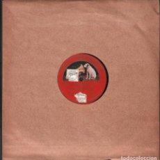Discos de pizarra: DISCO DE 78 R.P.M. (PIZARRA) - EL AMA (TONADA ESPAÑOLA) // DUO DE RAFAELA Y ESTEBAN RF-9505. Lote 257327270