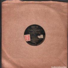 Discos de pizarra: DISCO DE 78 R.P.M. (PIZARRA) - NORMA (BELLINI) // LUCREZIA BORGIA (DONIZETTI) RF-9510. Lote 257328825