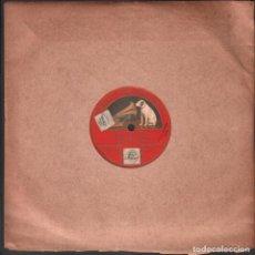 Discos de pizarra: DISCO DE 78 R.P.M. (PIZARRA) - MI TIERRA (MARIANO MUZAS Y J.L. MEDIAVILLA) / MONOCARA RF-9511. Lote 257329475