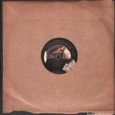 Discos de pizarra: DISCO DE 78 R.P.M. (PIZARRA) - LA CANCION DEL OLVIDO (SERENATA CORO) // MARINELLA RF-9512. Lote 257329635