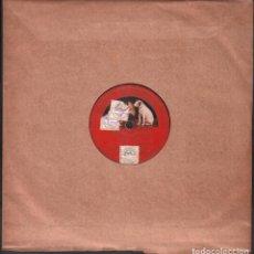 """Discos de pizarra: DISCO DE 78 R.P.M. (PIZARRA) - EL HUESPED DEL SEVILLANO """"CANCION DE LA ESPADA"""" // ROMANZA RF-9514. Lote 257330285"""