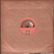 Discos de pizarra: DISCO DE 78 R.P.M. (PIZARRA) - TOSCA (PUCCINI) SUNG BY CARUSO / MONOCARA RF-9515. Lote 257330465