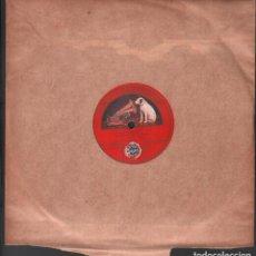 Discos de pizarra: DISCO DE 78 R.P.M. (PIZARRA) - ADIOS TRIGUEÑA // MI TIERRA RF-9516. Lote 257330765