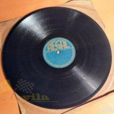 Disques en gomme-laque: LA VIDA ROSA - LA VIE EN ROSE - EDITH PIAF - 10 PULGADAS. Lote 257512790