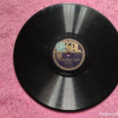 "Discos de pizarra: 10"" BING CROSBY - LET'S PUT OUT THE LIGHTS / LET'S TRY AGAIN REGAL C 10019 - SPAIN PRESS (EX) 78RPM. Lote 257614555"