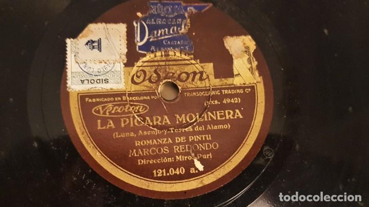 """Discos de pizarra: ALBUM CON 12 DISCOS DE PIZARRA """"LA VOZ DE SU AMO"""" EN PERFECTO ESTADO - Foto 5 - 258867720"""