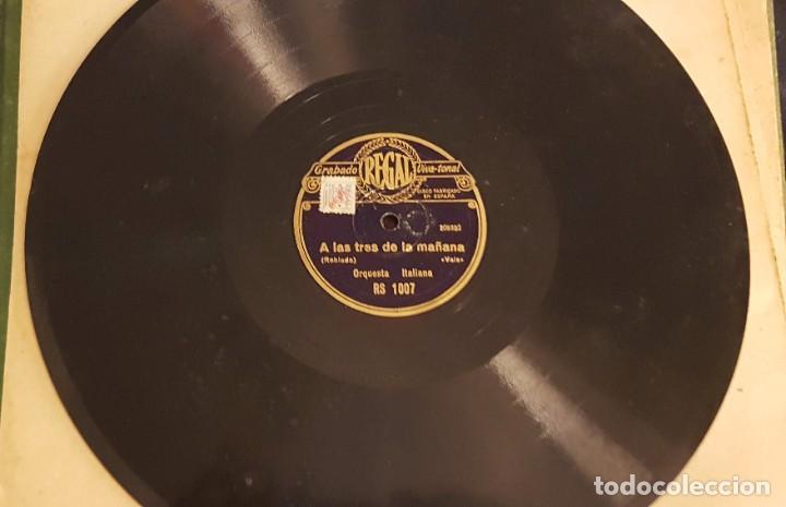 """Discos de pizarra: ALBUM CON 12 DISCOS DE PIZARRA """"LA VOZ DE SU AMO"""" EN PERFECTO ESTADO - Foto 13 - 258867720"""