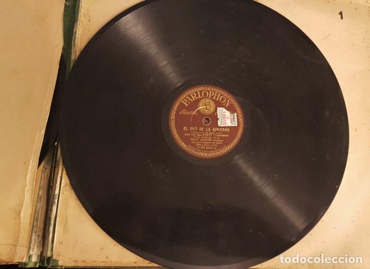 """Discos de pizarra: ALBUM CON 12 DISCOS DE PIZARRA """"LA VOZ DE SU AMO"""" EN PERFECTO ESTADO - Foto 19 - 258867720"""