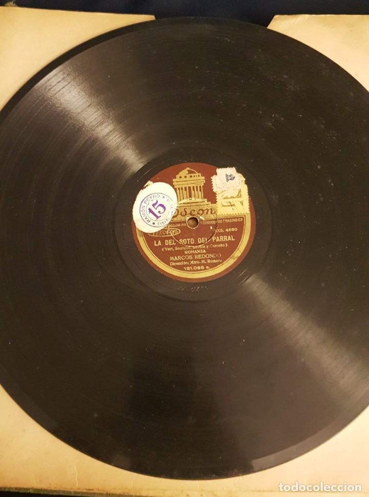 """Discos de pizarra: ALBUM CON 12 DISCOS DE PIZARRA """"LA VOZ DE SU AMO"""" EN PERFECTO ESTADO - Foto 21 - 258867720"""