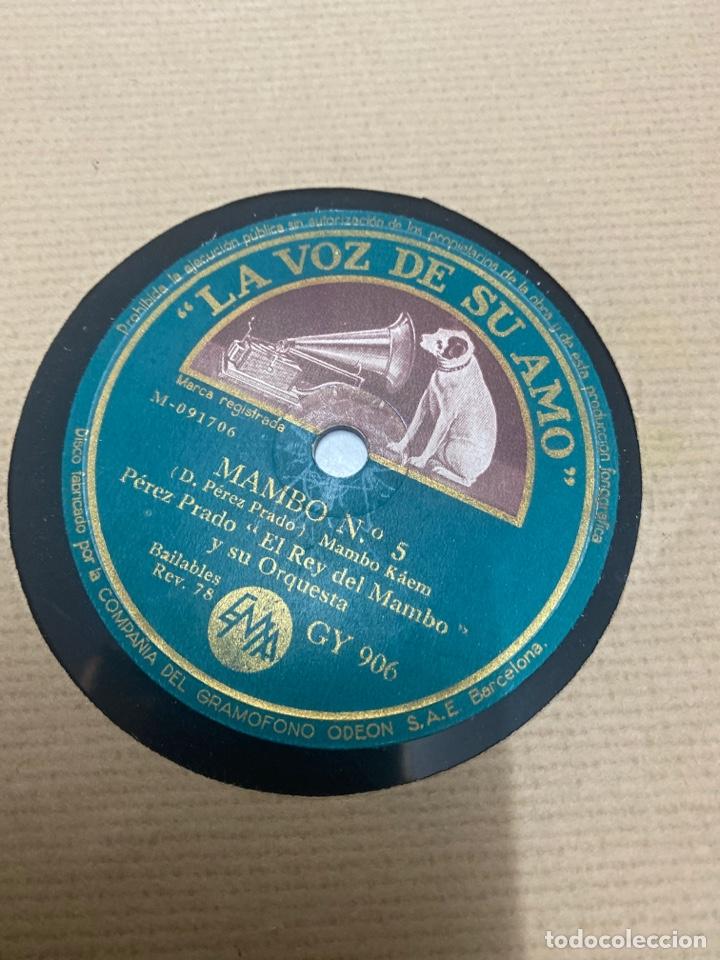 Discos de pizarra: Perez prado / el rey del mambo N 5 - Foto 2 - 259858310