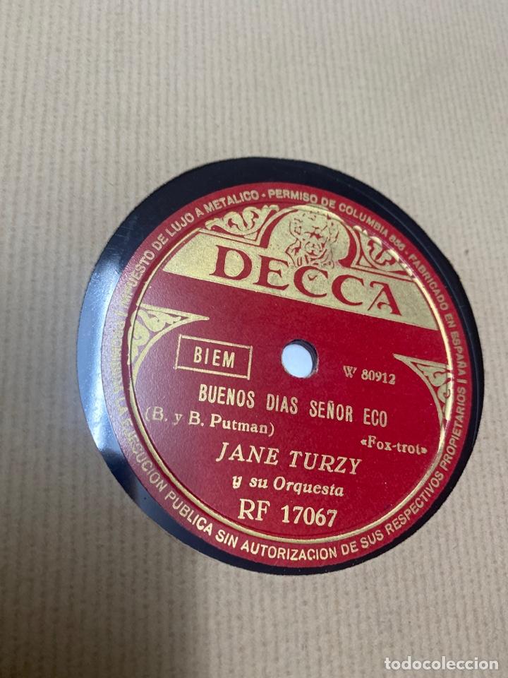 Discos de pizarra: Jane turzy y su orquesta - Foto 2 - 259858750
