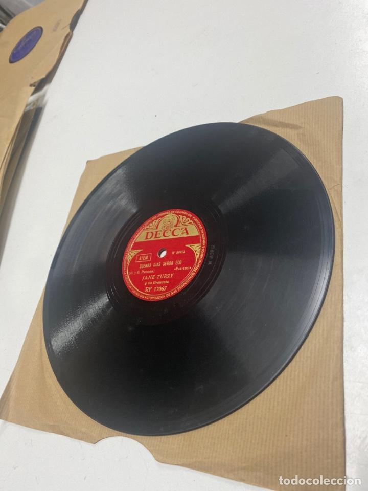 Discos de pizarra: Jane turzy y su orquesta - Foto 3 - 259858750