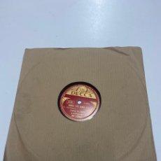 Discos de pizarra: JANE TURZY Y SU ORQUESTA. Lote 259858750