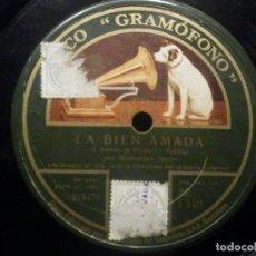 Discos de pizarra: PIZARRA GRAMOFONO AE 1340 MERCEDES SEROS - FLORES,FLORES, LA BIEN AMADA J.ANDRES DE PRADA,I.PADILLA. Lote 260814985