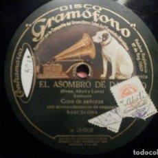 Discos de pizarra: PIZARRA GRAMÓFONO W 260631 EL ASOMBRO DE DAMASCO, CORO DE SEÑORAS - INTERMEZZO - ORQUESTA BARCELONA. Lote 261348505