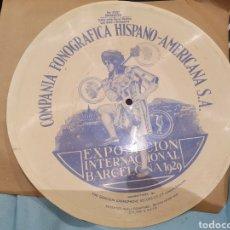 Discos de pizarra: 78 RPM DISCO FLEXIBLE. Lote 261535080