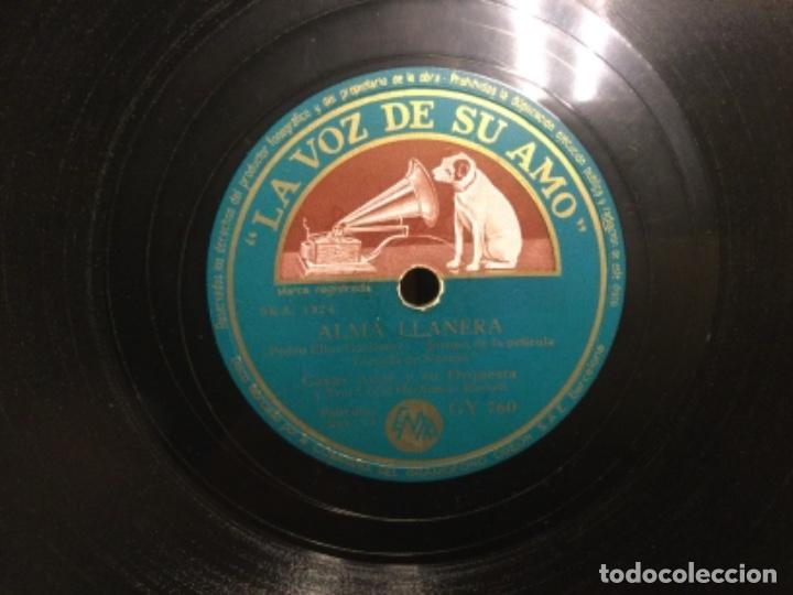 Discos de pizarra: DISCO PIZARRA - ALMA LLANERA - TE QUIERO , DIJISTE - CASAS AUGE (Ref,60) - Foto 3 - 262011265