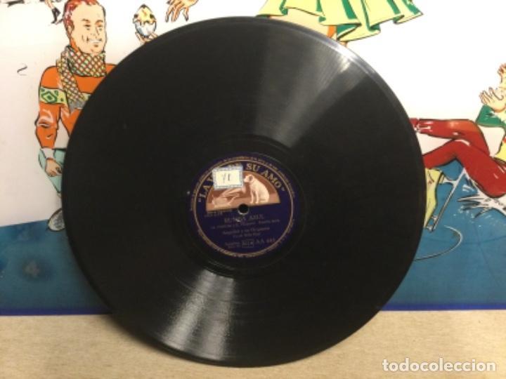 Discos de pizarra: DISCO PIZARRA - RUMBA AZUL - ANGELINI Y SU ORQUESTA - HARLEM NOCTURNO (Ref,61) - Foto 4 - 262011330