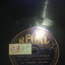 Discos de pizarra: LOTE 7 DISCOS 78RPM TANGO ARGENTINO. Lote 262184650