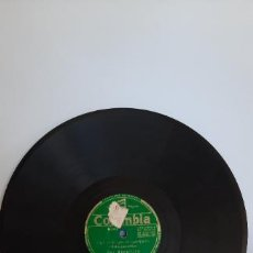 Discos de pizarra: CON LA VIRGE TE COMPARO/DE HUELVA-DISCO DE PIZARRA. Lote 262702840