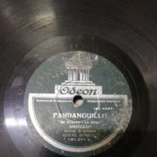 Discos de pizarra: DISCO 78RPM ANGELILLO FANDANGUILLO (EL CLAVEL Y LA ROSA) TARANTA (DE LOS LAURELES). Lote 262765495