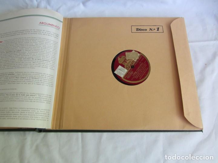 Discos de pizarra: Carpeta con 4 discos de pizarra Luisa Fernanda Odeón - Foto 6 - 262918580
