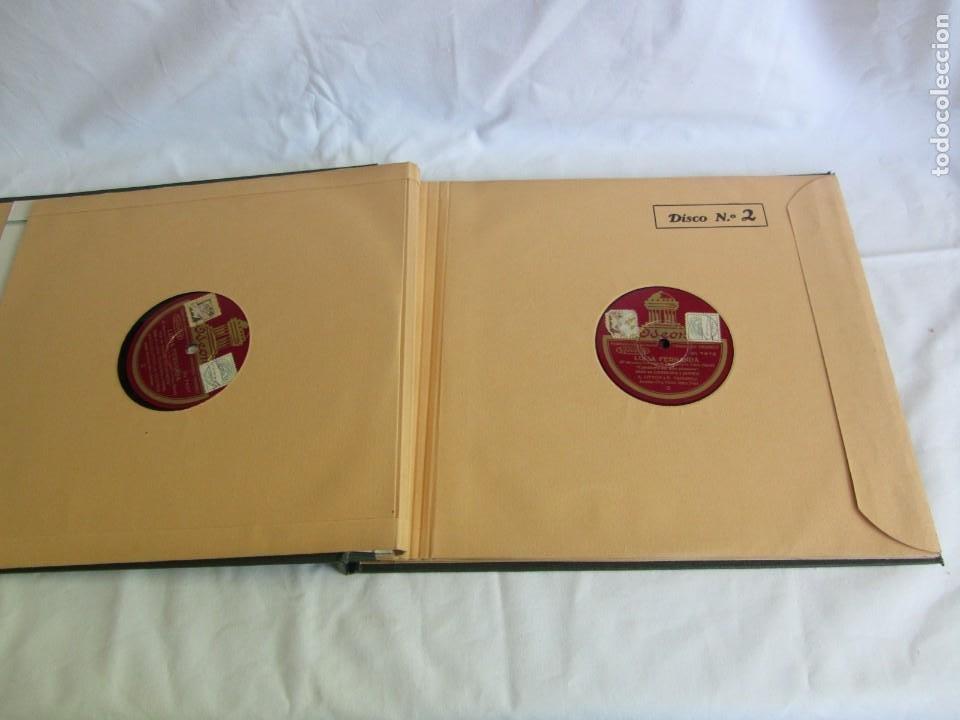 Discos de pizarra: Carpeta con 4 discos de pizarra Luisa Fernanda Odeón - Foto 8 - 262918580