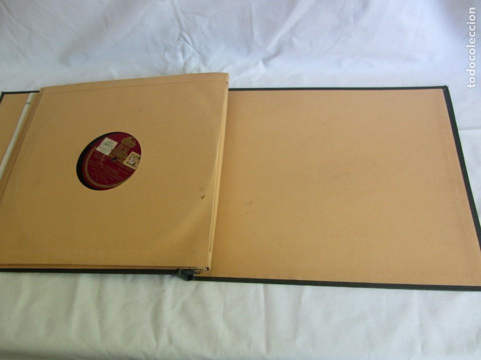 Discos de pizarra: Carpeta con 4 discos de pizarra Luisa Fernanda Odeón - Foto 14 - 262918580