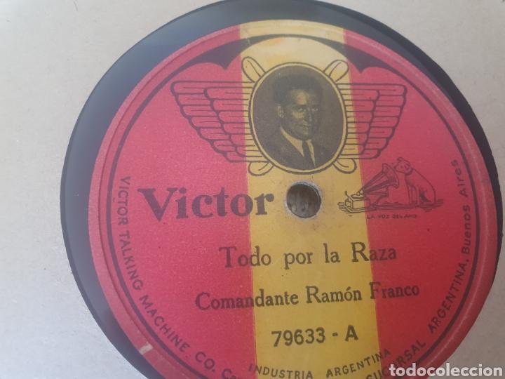 78 RPM COMANDANTE RAMÓN FRANCO (Música - Discos - Pizarra - Flamenco, Canción española y Cuplé)