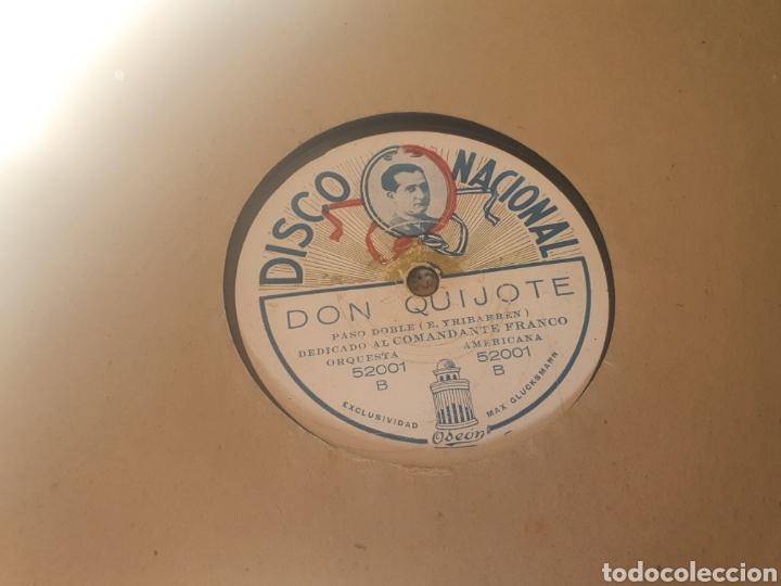 Discos de pizarra: 78 RPM COMANDANTE RAMÓN FRANCO - Foto 2 - 263637455