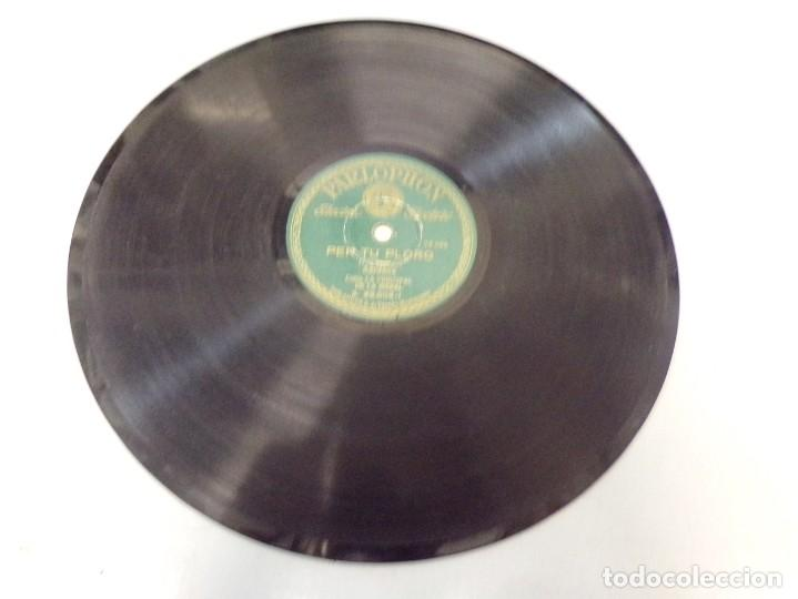 DISCO PIZARRA PARLOPHON PER TU PLORO, TOC D´ORACIO (PEP VENTURA) B. 25.006 (Música - Discos - Pizarra - Otros estilos)