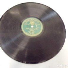 Discos de pizarra: DISCO PIZARRA PARLOPHON PER TU PLORO, TOC D´ORACIO (PEP VENTURA) B. 25.006. Lote 263784895