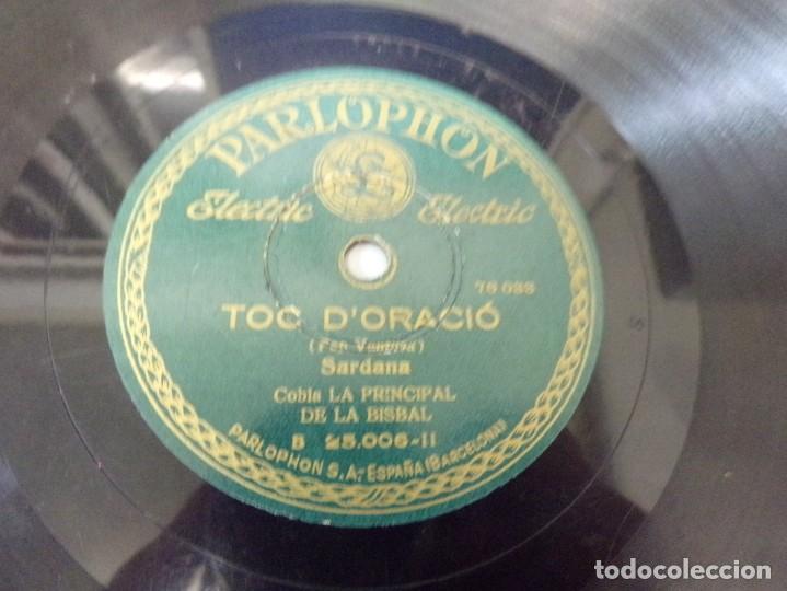 Discos de pizarra: disco pizarra Parlophon Per Tu Ploro, Toc D´Oracio (pep ventura) b. 25.006 - Foto 4 - 263784895