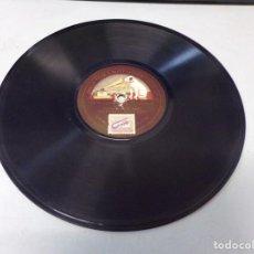 Discos de pizarra: DISCO PIZARRA GRAMOFONO LA VOZ DE SU AMO EN LA COMISARIA (M. F. PALOMERO) SACANDO LA CEDNLA 3-61083. Lote 264231988