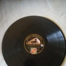 Discos de pizarra: DISCO PIZARRA. GRAMOFONO. ORQUESTA FILARMONICA. EL AMOR BRUJO DE FALLA. VER DATOS FOTO. Lote 264420599