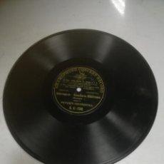 Disques en gomme-laque: DISCO PIZARRA. GRAMOPHONE CONCERT RECORD. INTERMEZZO. CAVALLERIA RUSTICANA. VER DATOS FOTO. Lote 265416004