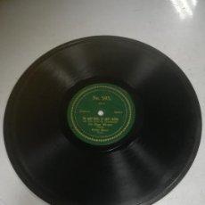 Discos de pizarra: DISCO PIZARRA. GERMAN DUETT. OLGA WINTER. WIR BUMMELN DURCH'S LEBEN. VER DATOS FOTO. Lote 265416909