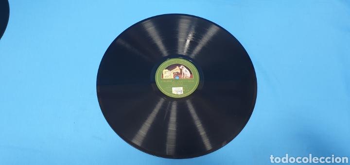"""DISCO DE PIZARRA - LA DOLOROSA """"ROMANZA DE SAN RAFAEL"""" / """"DUO"""" - LA VOZ DE SU AMO (Música - Discos - Pizarra - Clásica, Ópera, Zarzuela y Marchas)"""