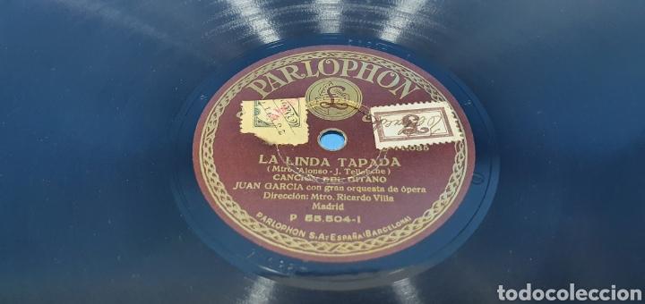 Discos de pizarra: DISCO DE PIZARRA - LA LINDA TAPADA / PAVA REGIONAL - PARLOPHON - Foto 2 - 265441384