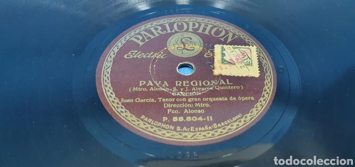 Discos de pizarra: DISCO DE PIZARRA - LA LINDA TAPADA / PAVA REGIONAL - PARLOPHON - Foto 4 - 265441384
