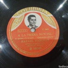 Discos de pizarra: 78 RPM RAFAEL FARINA. Lote 265519604